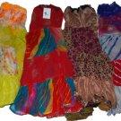 4 Pcs Improv Tribal Style Belly Dance Chiffon Skirts set - Variation