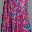 Multiwear plus size magic wrap kariza silk skirts 5 pcs lot assorted colors