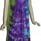 10 pcs Hippie Summer Casual Beach Dresses - Tie Dye Dresses