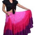 "25 yard tribal skirts - tie dye skirts variation Long 40"""