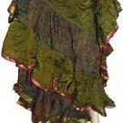 25 yard Multiple Color and Designs Tribe Dance Skirt - Variation