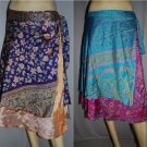 Wholesale lot of 10  Multi Magic Skirt Vintage Size small