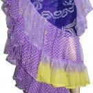 25 Yards Turkey Raks Sharki Belly Dance Chiffon Skirt - Variatious Colors