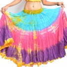 Indiantrend 25 Yard Belly Dance Skirt Canada - FRJ Tie Dye