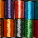 50Pc Polyester Sweing Embroidery Stitching Double and Single Color Thread Spools