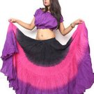 25 yard american belly dance lace skirt