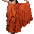 Indiantrend 25 Yard Belly Dance Skirt Canada - Copper