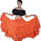 Polka dot tribal skirt with variation - 25 Yard Jaipur Cotton Rajasthani Skirt