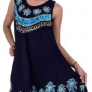 Pack of 10 Batik Embroidery Womens Office Dress