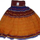 Original Vintage Ethnic Banjara Kuchi ATS Tribal Fusion Belly Dance Jaipur Skirt