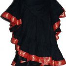 Bhangra Tribal Fusion 25 Yard Border Lace Skirt