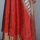 50 Vintage Silk Sari Magic wrap skirts mix size small,medium,large