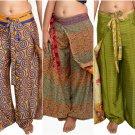 10 Pcs assorted Prints women pants - assorted casual prints