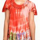 Wevez Women Tie Dye Beach Short Tops - 10 Pcs Lot