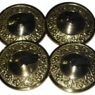 8 Pairs Wevez Afghani Finger Cymbals Golden (Zills) 16 Pcs