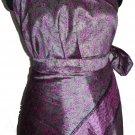10 SkirtLong convirtable wrap magic skirt Art Silk - 100 ways to wear
