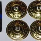 TURKISH ORIENTAL- BELLY DANCE Gold FINGER CYMBALS 8 Pair (16pcs) Set