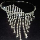 Bridal Wedding Rhinestone Bangle Bracelet Armlet BR83