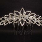 Bridal Rhinestone Crystal bling Hair tiara Comb RB387
