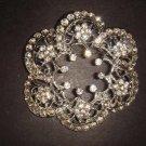 Bridal Crystal Vintage Rhinestone Brooch pin Pi195