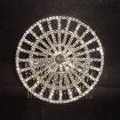 Bridal Rhinestone Hat Crystal Hair tiara Comb RB442