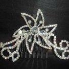 Bridal Rhinestone crystal bling Hair Tiara Comb RB426