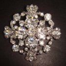 Bridal Vintage Style Rhinestone Brooch pin PI127
