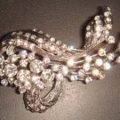 Bridal Crystal Vintage style Rhinestone Brooch pin PI33