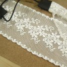 Bridal Crochet flower white tiara hair headband HR124