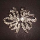 Bridal dress cake topper Rhinestone Brooch pin Pi418