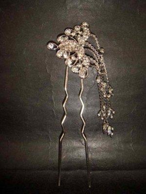 Bridal Vintage style Rhinestone Hairpin tiara Pin RP159