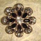 Bridal Crystal Vintage Rhinestone Brooch pin Pi207
