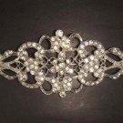 Bridal Crystal rhombus Rhinestone Brooch pin Pi180