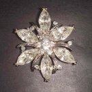 Bridal Crystal Vintage style Rhinestone Brooch pin PI64