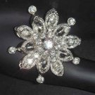 Bridal Vintage style Crystal Rhinestone Brooch pin PI37