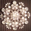 LOT 50 pcs Bridal Vintage Rhinestone Brooch pin PI23