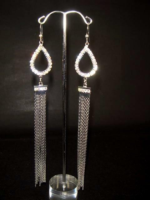 Bridal Crystal Rhinestone Chandelier Earring ER146