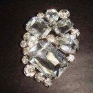 Bridal bling Vintage style Rhinestone Brooch pin PI341