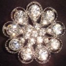 Bridal Crystal Bridesmaid Rhinestone Brooch pin PI131