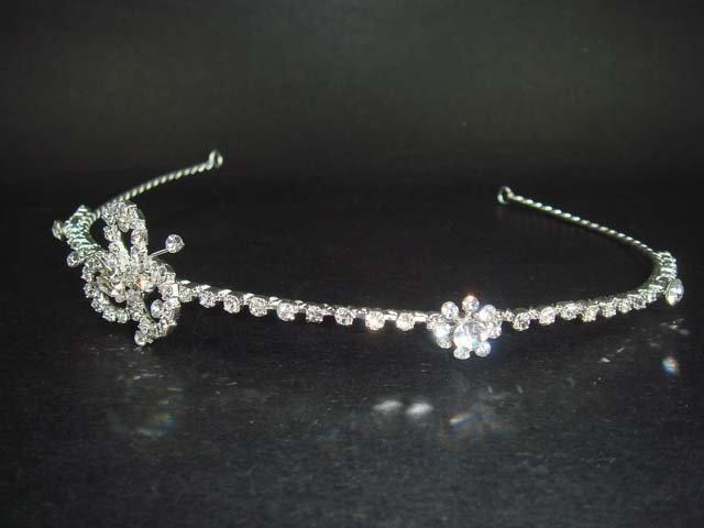 Bridal Wedding Rhinestone Headband Hair Tiara HR63