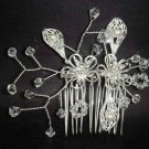 Bridal Rhinestone Crystal Wedding Hair tiara Comb RB158