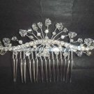 Bridal Rhinestone crystal Hair Tiara Comb RB424