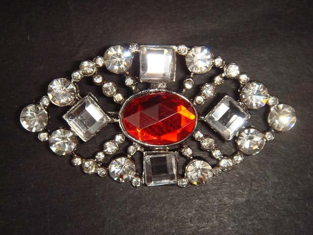 Bridal bling Vintage style Rhinestone Brooch pin PI307