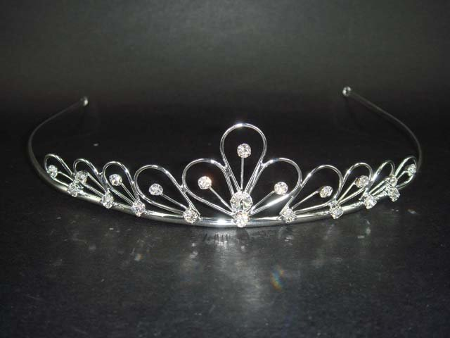 Bridal Rhinestone Hair crown tiara Headband HR25