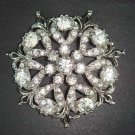 4 pc Bridal Vintage style Rhinestone Brooch pin re PI02