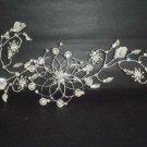 Bridal Rhinestone Flower leaf Crystal Hair tiara RB272