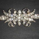Bridal Dress vintage style Rhinestone Brooch pin PI449