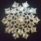 Bridal cake topper crystal Rhinestone Brooch pin PI431