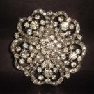LOT 50 pcs Bridal Vintage Rhinestone Brooch pin PI183