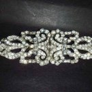 Bridal dress vintage style Rhinestone Brooch pin Pi242